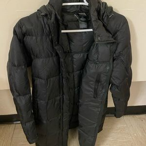 North Face Winter Jacket Medium Length Worn Once